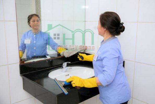 Mô tả công viêjc nhân viên vệ sinh tòa nhà